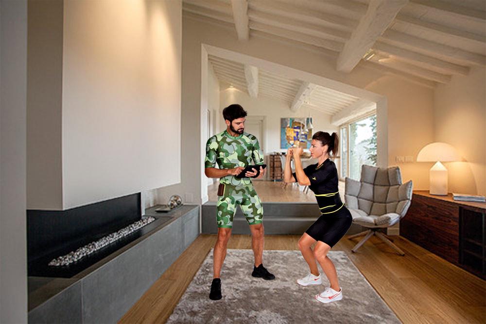 noleggia il nostro sistema home fitness